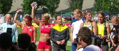 Siegerehrung Götzis 2007